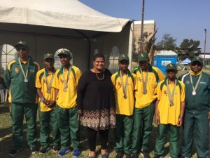 Jukskie SA School Sport Championship - Silver medals Secondary schools Boys overall - Eastern Cape 2017